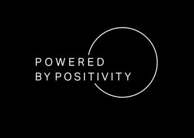 Powered By Positivity – Identity Design