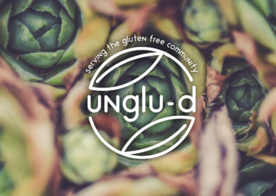 Unglu-d – Identity & Brand Package